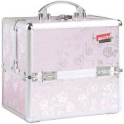 Beautify Professional Aluminium 25cm Beauty Cosmetics & Makeup Train Case