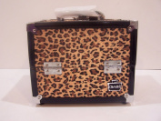 Caboodles Train Case Adored Cheetah Makeup Cosmetic