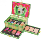 Christmas New Year Special Offer Jumbl Carry All Musical Colours Make up Kit - Included 12 Eyeshadows 3 Eyebrow Powders 1 Shimmer Face Powder 3 Face Powders 2 Blushes 6 Lip Colours and Applicators -Jumbl Brush and Mirror Included
