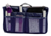 Hoxis Nylon Handbag Insert Comestic Gadget Purse Organiser with Free Hoxis Gift Pouch