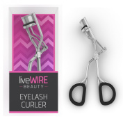 Professional Eyelash Curler - Never Needs Refill Pads! - Doesn't Pinch Or Pull! - Best Curl For Full Eyelashes With Cute Pink Packaging