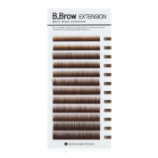 Blink B.Brow Lash Eyebrow Extension Colour Black/Brown Thickness 0.1 mm Length 7~8 Mix