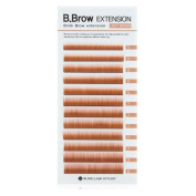Blink B.Brow Lash Eyebrow Extension Colour Black/Brown/LightBrown Thickness 0.1 mm Length 7~8 Mix