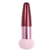 So Beauty Pink Liquid Cream Foundation Makeup Blender Sponge Brush Flat Head