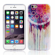 ABC(TM) Dream Catcher Painting Soft TPU Case Cover For iPhone 6 Plus 14cm