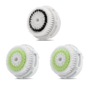 Replacement Brush Head Acne Cleansing 2 Pack and Sensitive Skin 1 Pack
