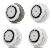 Replacement Brush Head for Sensitive Skin 3 Pack and Normal Skin 1 pack