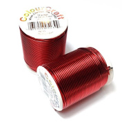 Beadalon Colourcraft Wire 18 Guage Red 10 Yards