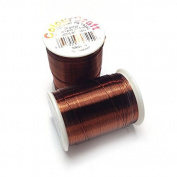Beadalon Colourcraft Wire 26 gauge Brown 30 yards