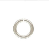 925 Sterling Silver 5mm 18ga Open Jump Rings 25 pcs