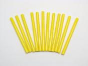 GlueSticksDirect Yellow Coloured Glue Stick mini X 4