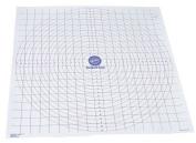 Wilton Roll and Cut Mat Fondant Dough Measured Grid Cutting Board