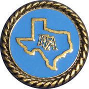 Decorative Texas FFA Future Farmers of America 1 1/4 Diameter Screw Back Concho