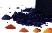 Natural Dye. Set of 5 - Indigo, Alkanet, Indian Madder, Cutch and Lac. 100ml each.