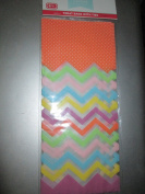 10cm X 23cm Cello Treat Bags with Ties (Pkg of 6) Five Packages = 30 Bags