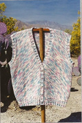 Oat Couture Knitting Pattern GU407 Marble Mountain Vest