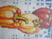 Peppers Counted Cross Stitch 13cm x 30cm Design Cross Stitch Kit