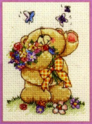 Anchor Forever Friends Counted Cross Stitch Kit - Butterfly Days