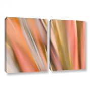 Cora Niele's Abstract Barcode, 2 Piece Gallery-Wrapped Canvas Set 18X28