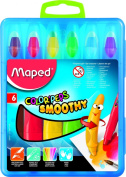 Maped Helix USA Colour'Peps Smoothy Gel Crayons, Pack of 6