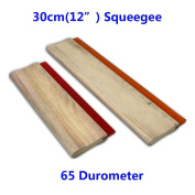 30cm Silk Screen Printing Press Squeegee Single Durometer Ink Scraper