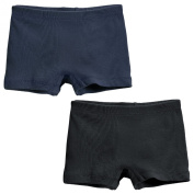 City Threads Big Girls' 2-Pack Boyshorts Underwear Bike / Dance Shorts