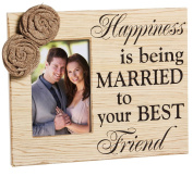 Cypress Home Married to Your Best Friend 4x6 Wooden Picture Frame