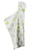 Cozibug Baby Cozi Dry Towel, Lime, One Size (nb-5), Lime