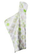 Cozibug Baby Cozi Dry Towel, Lime, One Size (nb-5), Lime