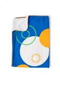 Cozibug Baby Planet Stroller Blanket, Blue, Blue