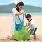 Dxnona Brand and New Sand Away Beach Mesh Bag Tote (Swim, Toys, Boating. Etc.) Stay Away From Sand --Xl Size