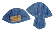 Harley Davidson Infant Toddler Boys Do Rag Hat Cap - Denim with Patch