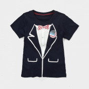 Baby Box Baby Boys' kids Toddler short sleeve T-Shirts