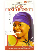Donna Premium Collection Satin Braid Bonnet - Yellow
