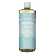 Dr. Bronner's Pure-Castile Liquid Soap (950ml, Baby Unscented) - 2 pack