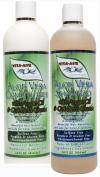 Aloe Vera 410ml Shampoo & Conditioner Set Natural, Botanical & Organic Ingredients Vegan & Gluten Free