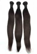 Angel Hair 3 Bundles Virgin Peruvian Straight Hair; Sew In Raw Unprocessed Weft Weave Remy Hair Extension 300 Grammes Free Fast Shipping