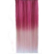 Best Selling ! 15 Colorsjapan High Temperature Heat Resistant Synthetic Straight Multi Colour Extension Hair Wig Woman's 65cm 25inch 105g Good Quality Human Made Hair