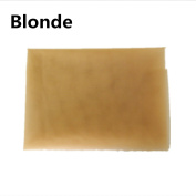 BHD Swiss Lace Net for Making Lace Wig- 1/2 Yard (46cm x 100cm ), Blonde Colour