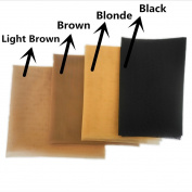 BHD Swiss Lace Net for Making Lace Wig- 1/2 Yard (46cm x 100cm ), Brown Colour