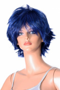 Epic Cosplay Apollo Fusion Blue Cosplay Wig 33cm Layered