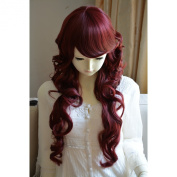 "Liz Wig Duchess Style Heat Friendly Long Curly Wavy Princess Cosplay Party Hair Wig 31"" 80cm"
