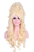 80cm/31.50inch Deluxe Marie Antoinette Wig Blonde Cosplay Party Costume Wigs Zy34