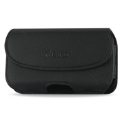 Reiko Horizontal Pouch for Samsung Galaxy S5 - Retail Packaging - Black