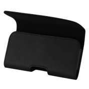 Reiko Black Samsung Galaxy S5 Horizontal Pouch - Retail Packaging - Black