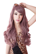 60cm Long Wavy Cosplay Women Girl Costumes Hair Full Wigs