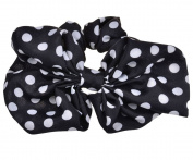 Change Fashionable Korean Cute Girls Rabbit Ear Bow Ribbon Chiffon Headband Hair Band