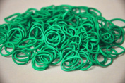 Authentic Rainbow Loom@ Silicone Rubber Bands Refill -- 600 Pcs Pack with 24 C-clips -- Plus Extra 100 Magic Light Changing Bands & 20 Beads