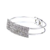 ZPS(TM)Fashion Lady Elegant Bangle Wristband Bracelet Crystal Cuff Bling Gift