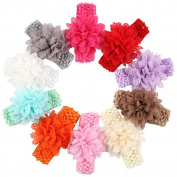 ROEWELL®Baby's Headbands/ Girl's Hair Bows/Hairband Infant Headwear Hair Flower
